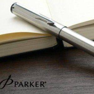 Parker Stainless Steel Ballpoint Pen (England)